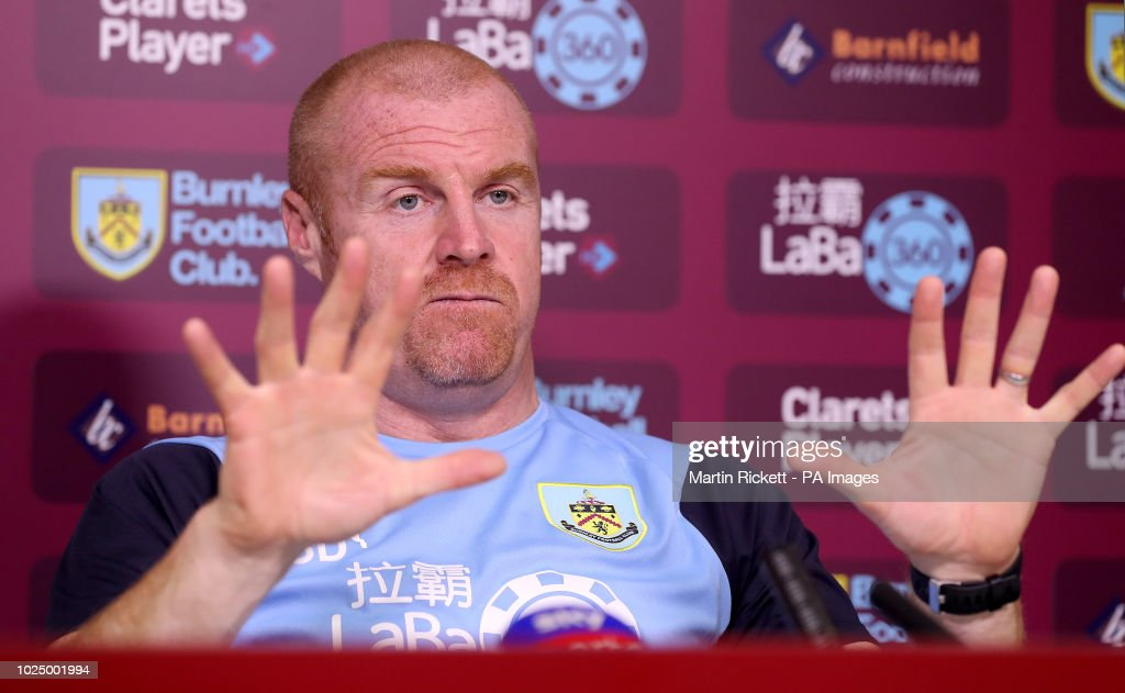 Burnley Training and Press Conference - Barnfield Training Centre : News Photo