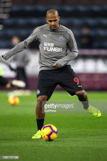 Burnley, UK. 26th November 2018. Jose Salomon Rondon of Newcastle United warms up prior to the Premier League match between Burnley and Newcastle...