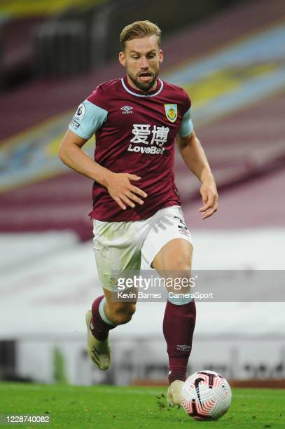Burnley's Charlie Taylor during the Premier League match between Burnley and Southampton at Turf Moor on September 26 2020 in Burnley United Kingdom