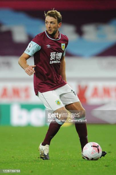 Burnley's Dale Stephens during the Premier League match between Burnley and Southampton at Turf Moor on September 26 2020 in Burnley United Kingdom