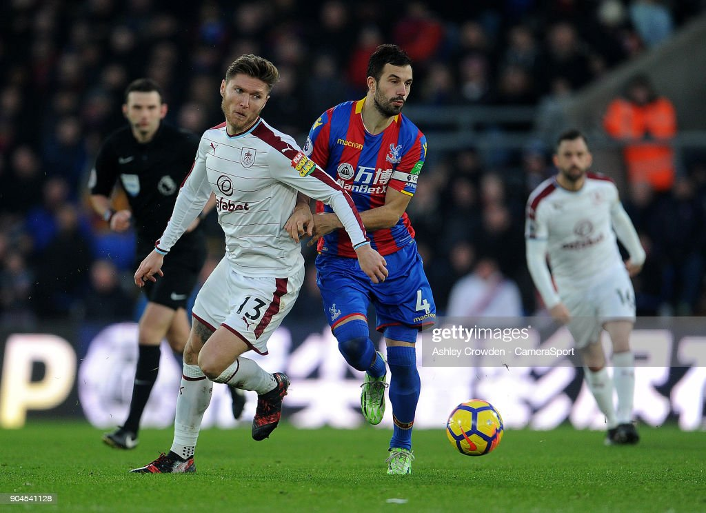 Crystal Palace v Burnley - Premier League : News Photo