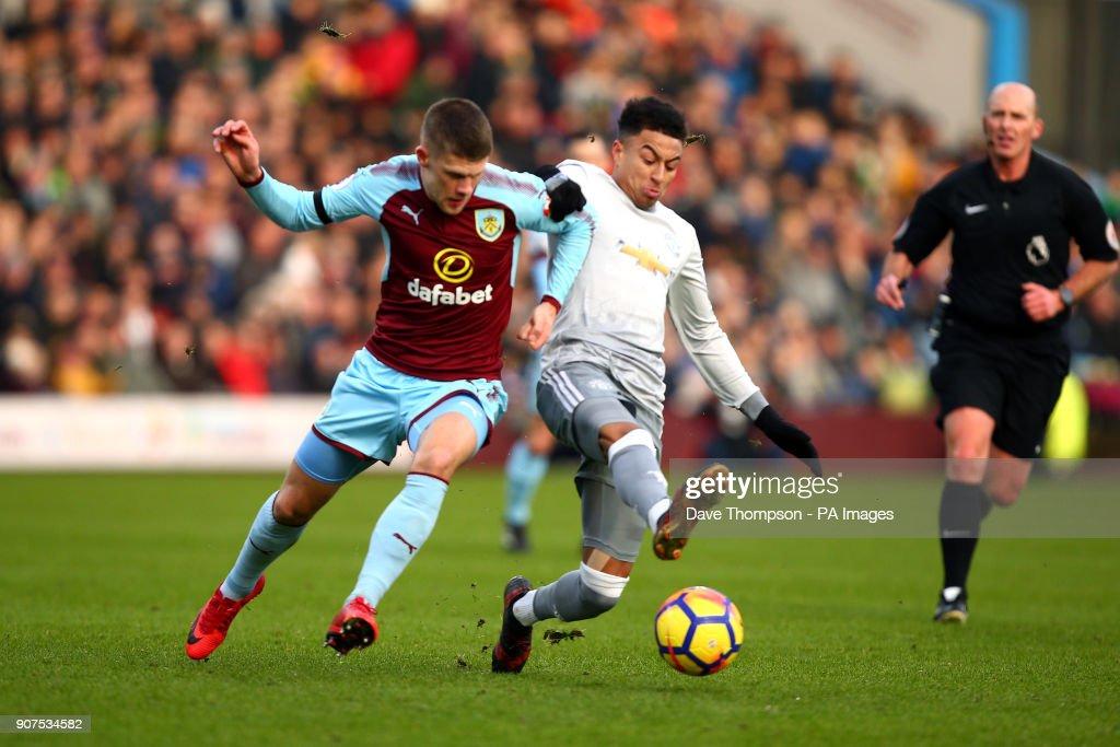 Burnley v Manchester United - Premier League - Turf Moor : News Photo