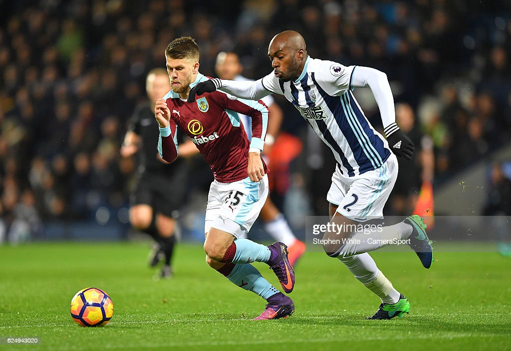 West Bromwich Albion v Burnley - Premier League : News Photo