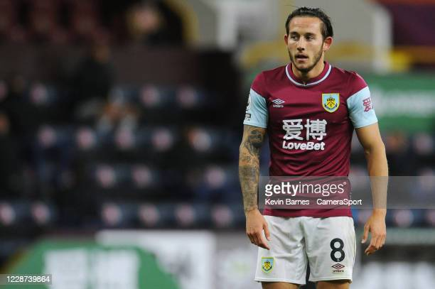 Burnley's Josh Brownhill during the Premier League match between Burnley and Southampton at Turf Moor on September 26 2020 in Burnley United Kingdom