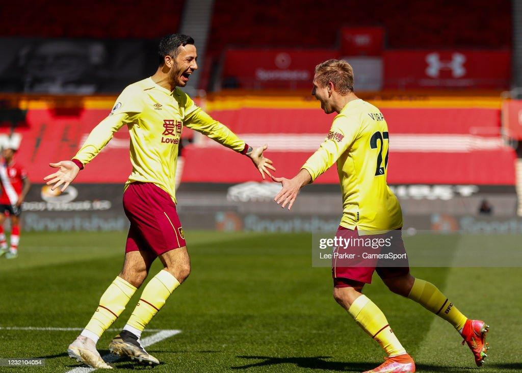 Southampton v Burnley - Premier League : ニュース写真