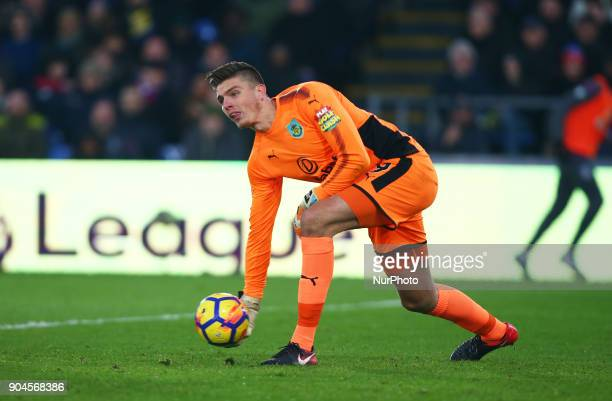 Burnley's Nick Pope during Premier League match between Crystal Palace and Burnley at Selhurst Park Stadium London England on 16 Jan 2018