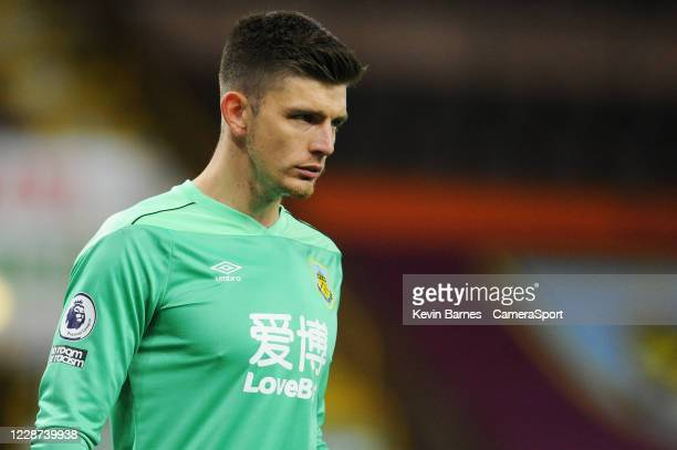 Burnley's Nick Pope during the Premier League match between Burnley and Southampton at Turf Moor on September 26 2020 in Burnley United Kingdom