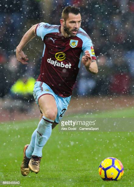 BURNLEY ENGLAND DECEMBER Burnley's Phil Bardsley during the Premier League match between Burnley and Watford at Turf Moor on December 9 2017 in...