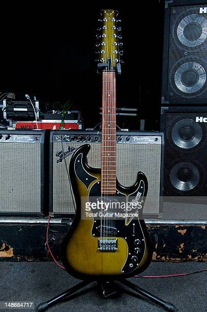Burns Apache Double Six electric guitar used by English guitarist and Songwriter Andy Powell best know as one of the founding members of rock band...