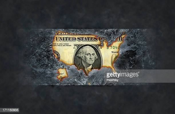 Burnt dollar