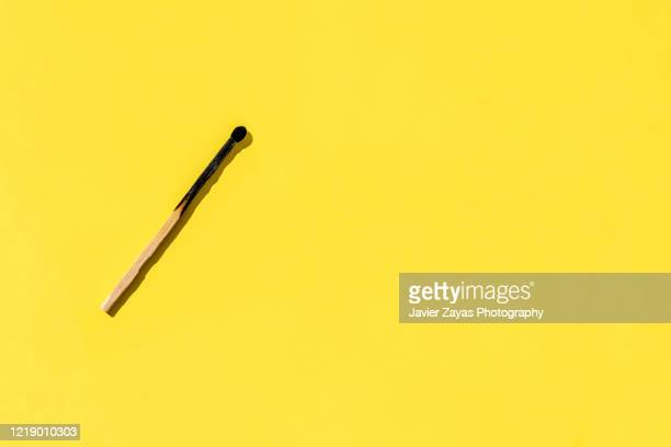 burnt matchstick - burning stock pictures, royalty-free photos & images