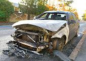 destroying evidence burning car after crime
