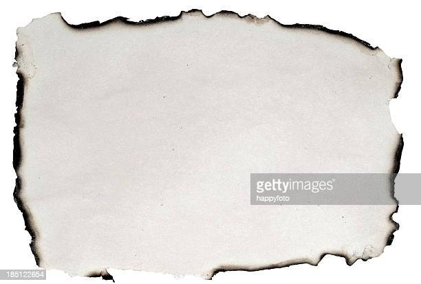burnt paper - burnt stock pictures, royalty-free photos & images