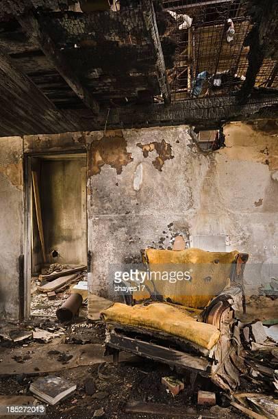 Burnt room chair