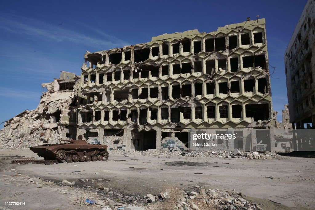 Deprivation And Destruction Remain Widespread In Libya : News Photo