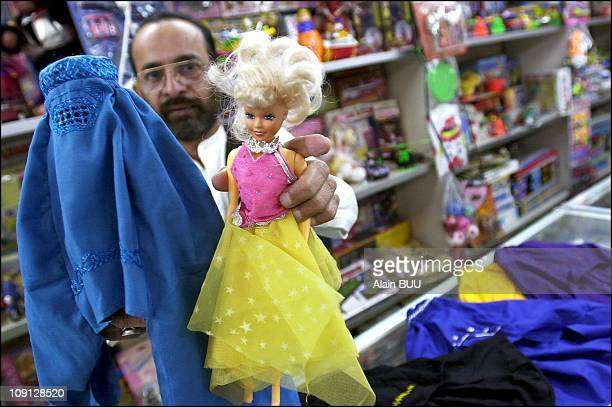 Burqas For Barbie Dolls For Sale In 2001 In Islamabad Pakistan