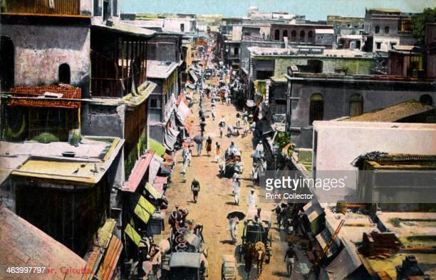 Burra Bazar Calcutta India early 20th century