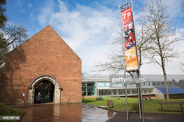 burrell museum entrance - theasis stock pictures, royalty-free photos & images