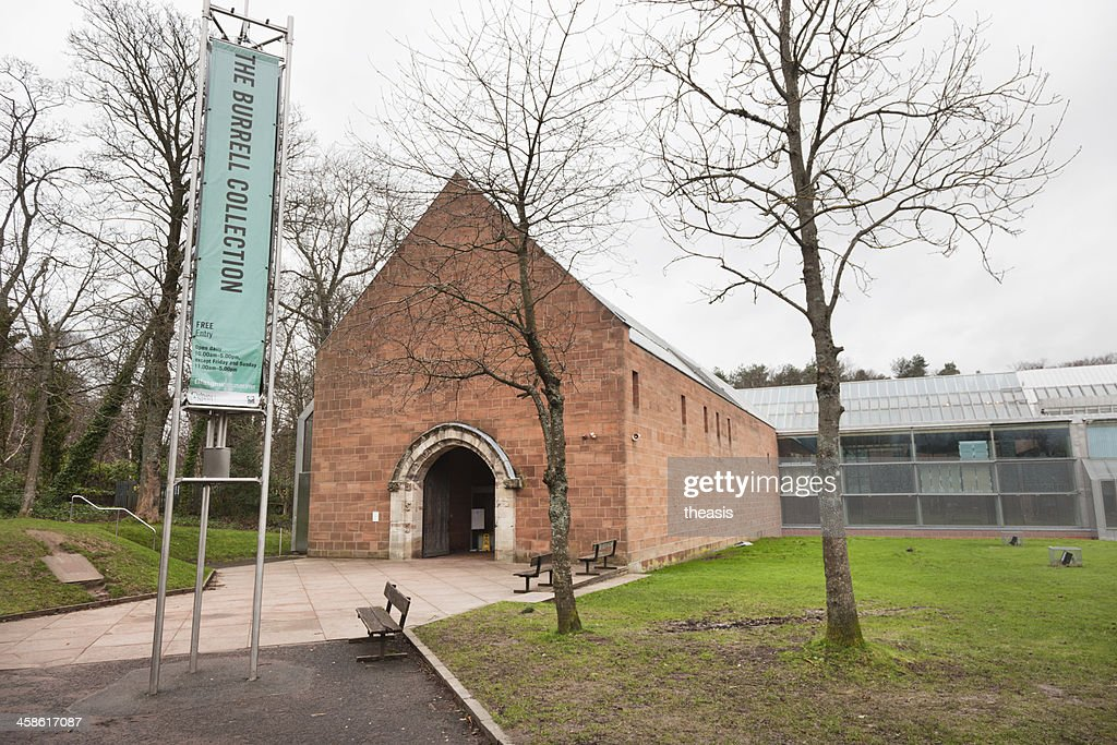 Burrell Museum Entrance : Stock Photo