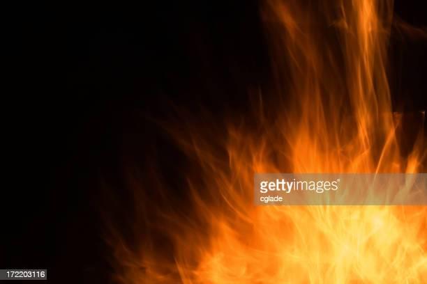 バーストの炎