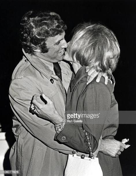 Burt Bacharach and Angie Dickinson during Burt Bacharach and Angie Dickinson Sighting at The Bistro June 10 1971 at The Bistro in Beverly Hills...