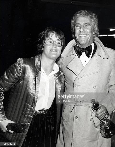 Burt Bacharach and daughter Lea Nikki Bacharach during 54th Annual Academy Awards Governor's Ball at Beverly Hilton Hotel in Beverly Hills CA United...