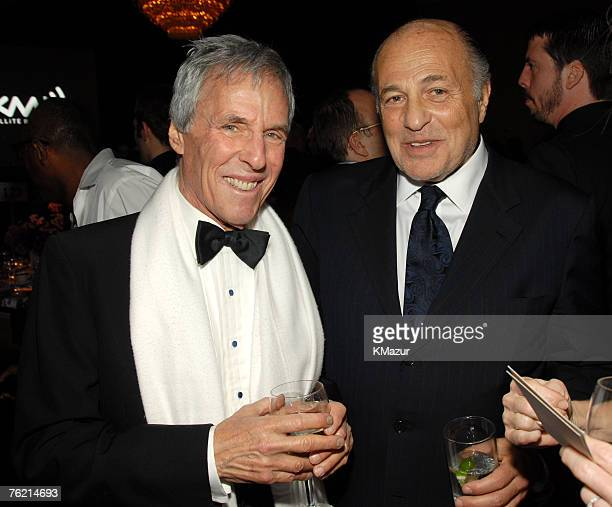 Burt Bacharach and Doug Morris Chairman of Universal Music Group
