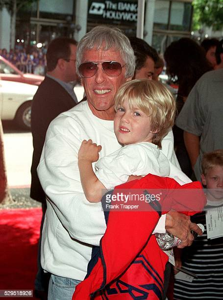 Burt Bacharach and his son Oliver arrive at the Mann's Chinese Theater