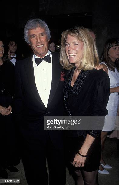 Burt Bacharach and Jane Hansen during ASCAP Honors Jimmy Jam and Terry Lewis at Beverly Hilton Hotel in Beverly Hills California United States