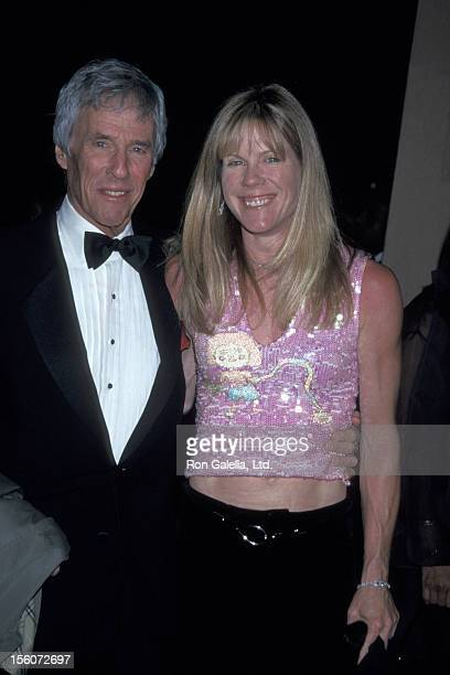 Burt Bacharach and Jane Hansen during The 44th Annual GRAMMY Awards Clive Davis PreGRAMMY Party at Beverly Hills Hotel in Beverly Hills California...