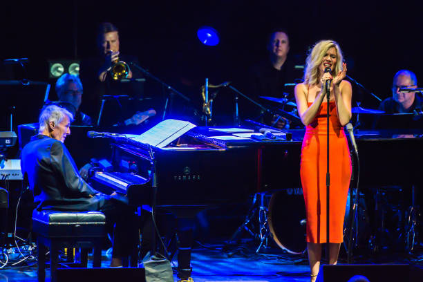 GBR: Burt Bacharach And Joss Stone Perform At The Eventim Apollo