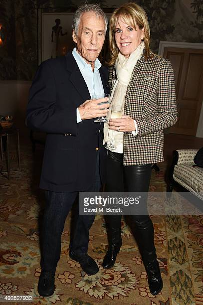 Burt Bacharach and wife Jane Hansen attend the press night after party for Close To You Bacharach Reimagined at The Haymarket Hotel on October 15...
