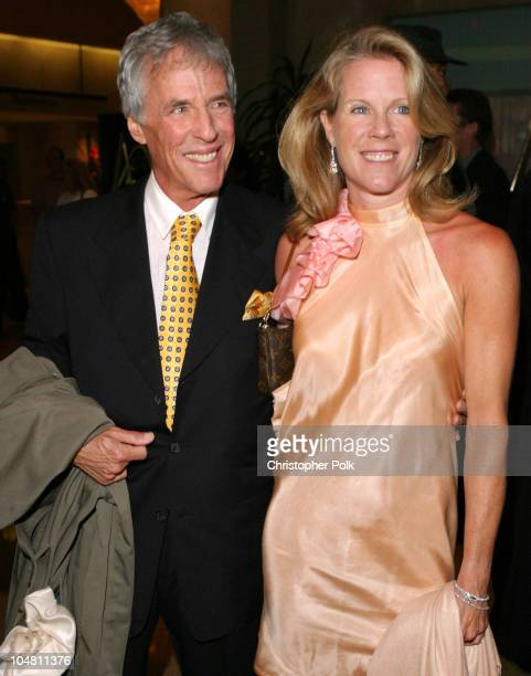 Burt Bacharach and wife Jane Hanson during Elvis Costello Recieves Founders Award at the 20th Annual ASCAP Pop Music Awards at The Beverly Hilton...