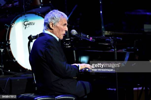 Burt Bacharach arrives at the 5th Annual Light Up the Blues Concert an Evening of Music to Benefit Autism Speaks at Dolby Theatre on April 21 2018 in...