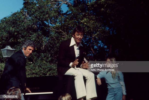 Burt Bacharach Bobby Van performing on to a crowd of children on the Walt Disney Television via Getty Images special 'Burt Bacharach in ShangriLa'