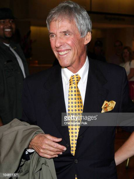 Burt Bacharach during Elvis Costello Recieves Founders Award at the 20th Annual ASCAP Pop Music Awards at The Beverly Hilton Hotel in Beverly Hills...