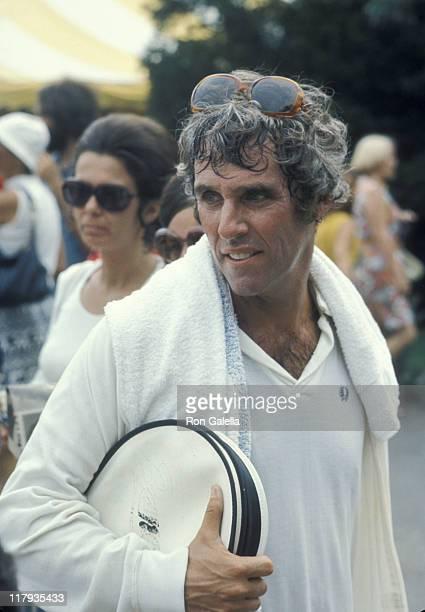 Burt Bacharach during RFK ProCelebrity Tennis Tournament August 26 1972 at Forest Hills Stadium in New York City New York United States
