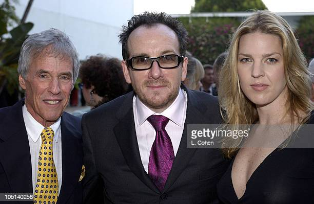 Burt Bacharach Elvis Costello Diana Krall during ASCAP's 20th Annual Pop Music Awards Arrivals at The Beverly Hilton Hotel in Beverly Hills...