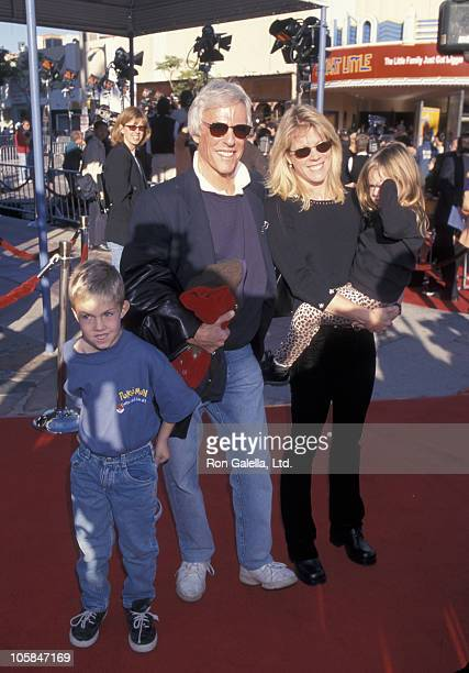 Burt Bacharach Jane Hansen and their children during Stuart Little Los Angeles Premiere at Mann Village Theatre in Westwood California United States