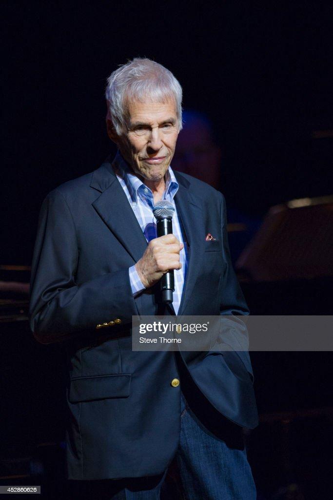 Burt Bacharach Performs At The Birmingham Symphony Hall