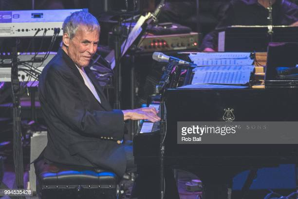 Burt Bacharach performs live on stage at The Royal Festival Hall on July 6 2018 in London England