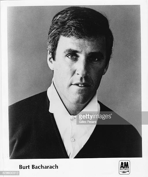 Burt Bacharach studio portrait USA 1965