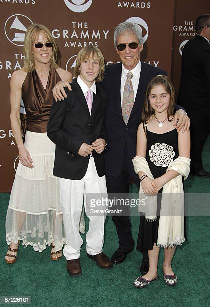 Burt Bacharach with family members Jane Oliver and Raleigh