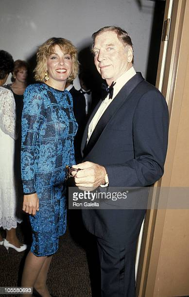 Burt Lancaster and daughter Joanna Lancaster during 1st Commitment to Life Awards at Bonaventure Hotel in Los Angeles California United States