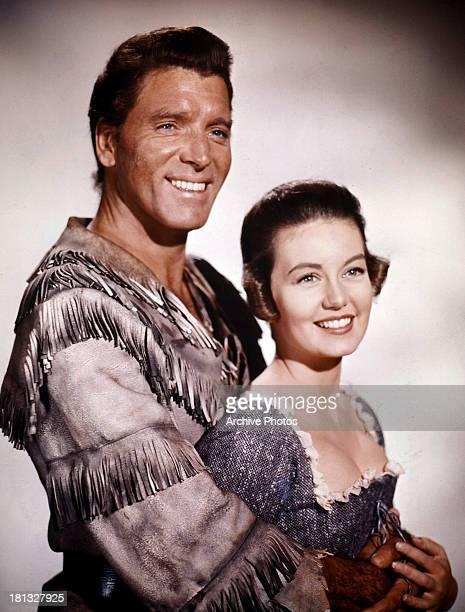 Burt Lancaster and Janette Scott in publicity portrait for the film 'The Devil's Disciple' 1959