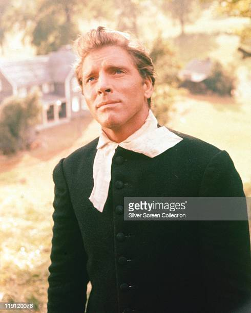 Burt Lancaster US actor in costume as a minister in colonial New Hamshire in the film 'The Devil's Disciple' 1959