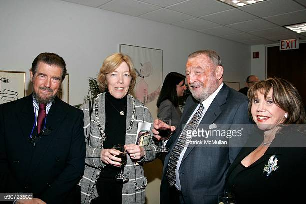 Burt Manning Brooke Bailey Johnson Jim Greenwald and Lee Greenwald attend The Museum of Television and Radio Hosts Food Network's The Edible...