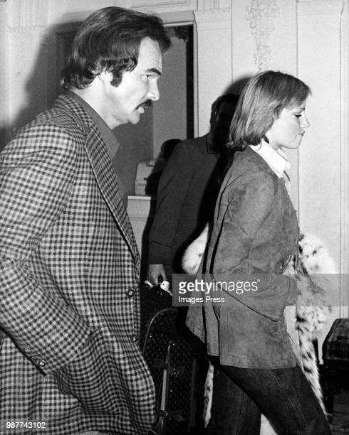 Burt Reynolds and Chris Evert circa 1977 in New York