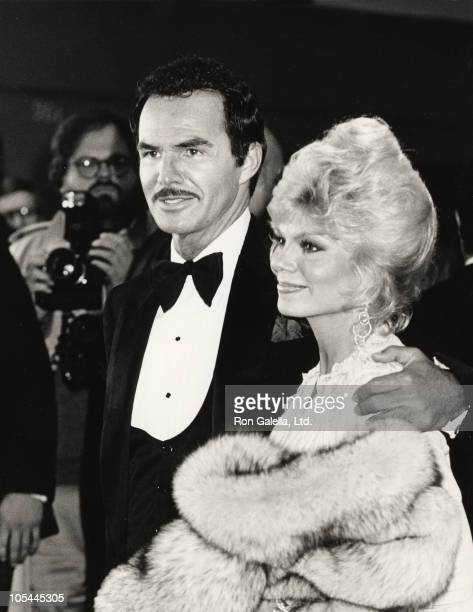 Burt Reynolds and Loni Anderson during City Heat Los Angeles Premiere in Los Angeles California United States