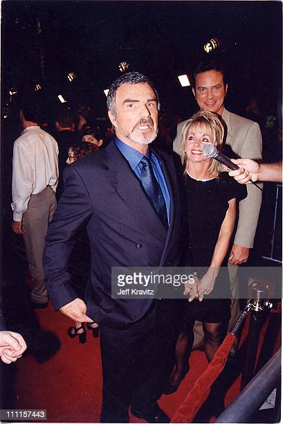 Burt Reynolds and Pam Seals during 'Boogie Nights' Premiere in Los Angeles California United States